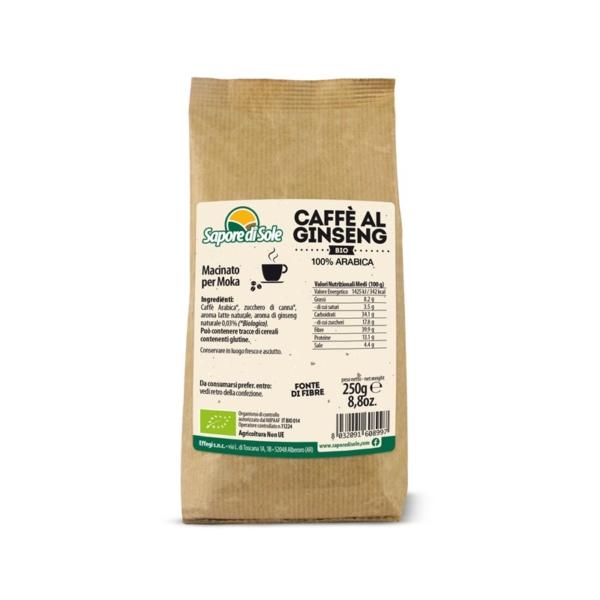 Caffè al Ginseng Bio Sapore di Sole