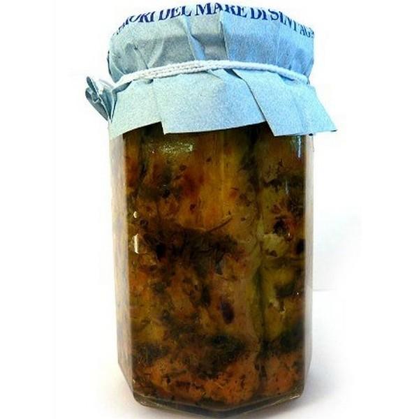 Cod in olive oil