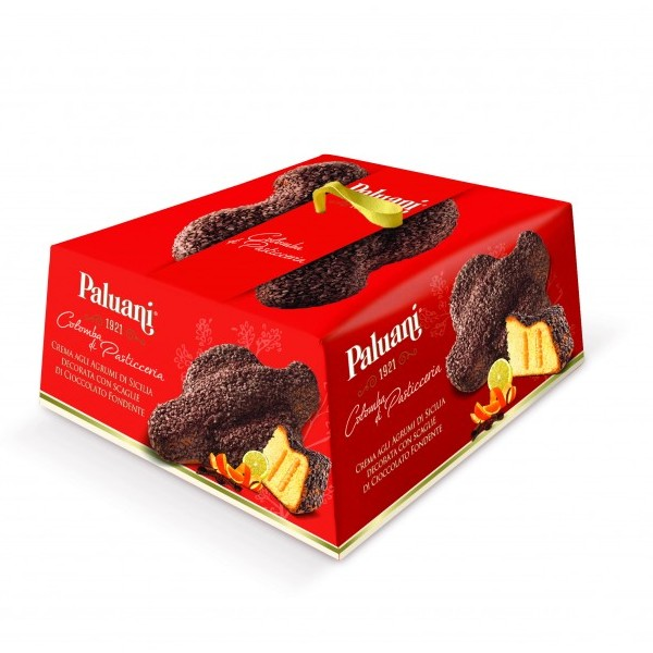 Colomba chocolate and orange cream, Paluani
