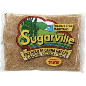Demerara unrefined sugar cane