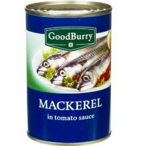 Mackerels in tomato sauce