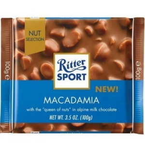 Milk chocolate, Sport Macadamia